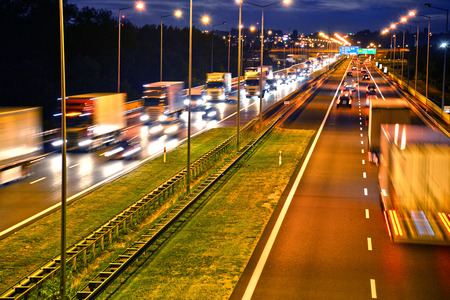 autobahn: Four lane controlled-access highway in Poland.