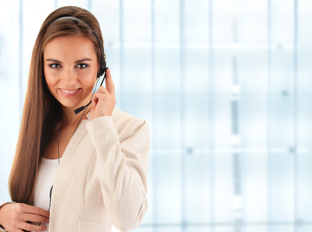 business services: Call center operator. Customer support. Helpdesk.