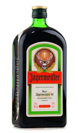digest: Bottle of Jagermeister herbal liqueur Editorial