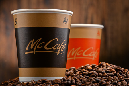 owned: McCafe is a coffee-house-style food and drink chain, owned by McDonalds.