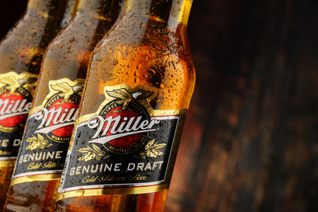 liquors: Miller Genuine Draft is the original cold filtered packaged draft beer, a product of the Miller Brewing Company owned by SABMiller