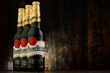 pilsner beer: Plzensky Prazdroj, the first pilsner beer in the world, better known by its German name Pilsner Urquell is a prominent brand of the global brewing company SABMiller