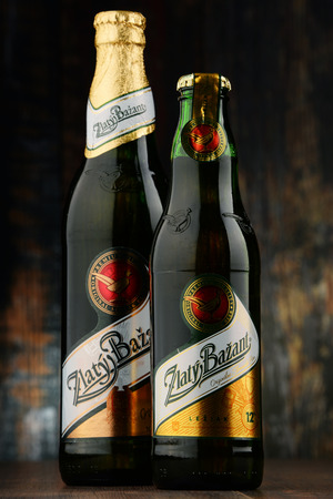int: Zlaty Bazant and Slovak beer brand produced in Hurbanovo brewery owned by Heineken Int group, distributed in the US and Canada under the name Golden Pheasant
