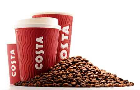 headquartered: Costa Coffee is a British multinational coffeehouse company headquartered in Dunstable, Bedfordshire; second largest coffeehouse chain in the world. Editorial