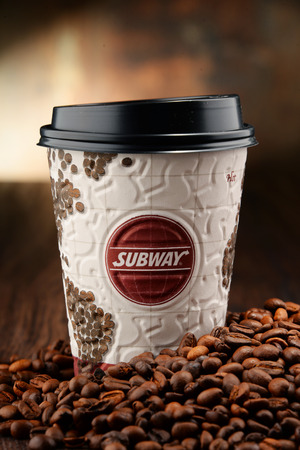 battleground: Coffee has become an important battleground for fast-food companies. Subway is one of the fastest growing franchises in the world with over 44,000 restaurants