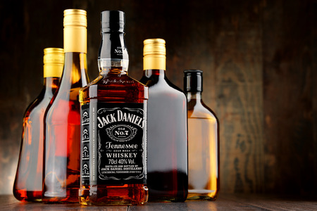 daniels: Jack Daniels, a brand of the best selling American whiskey in the world, produced by the Jack Daniel Distillery and owned by the Brown-Forman Corporation since 1956