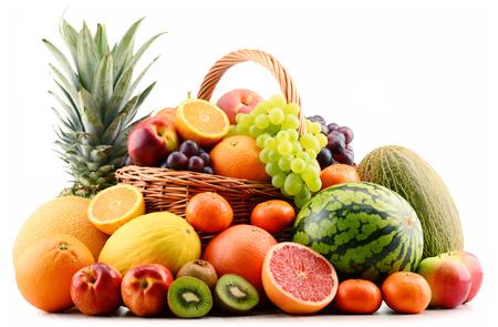 alimentacion balanceada: Composici�n con variedad de frutas. Dieta equilibrada