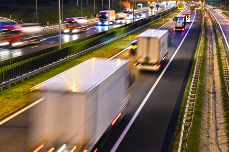 expressway: Four lane controlled-access highway in Poland.