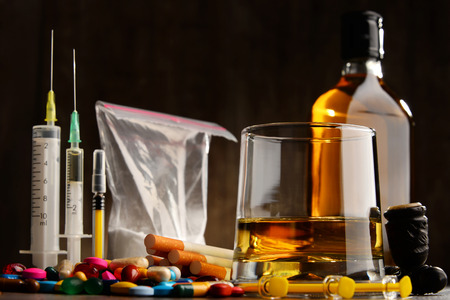recreational: Variety of addictive substances, including alcohol, cigarettes and drugs