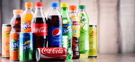 is soft drink healthy water