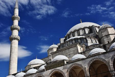 Suleymaniye Mosque in Istanbul, Turkey. Stock Photo