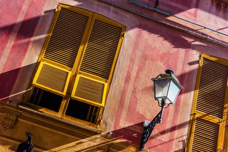 Architecture of Sestri Levante, Liguria, Italy.