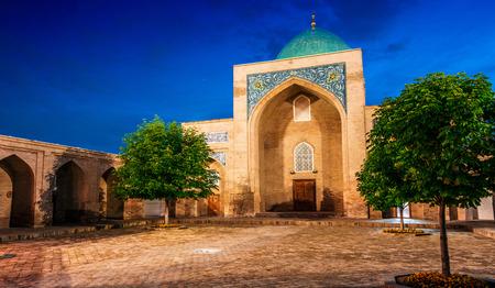 Khast Imam Mosque, major tourist destination in Tashkent, Uzbekistan