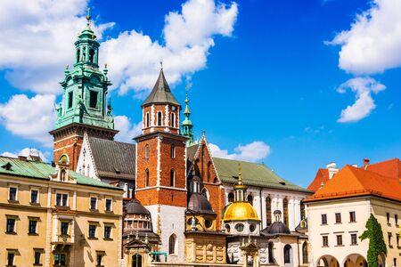 Wawel Cathedral on Wawel Hill in Krakow, Poland