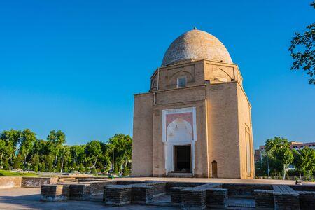 Rukhobod Mausoleum in Samarkand, Uzbekistan.