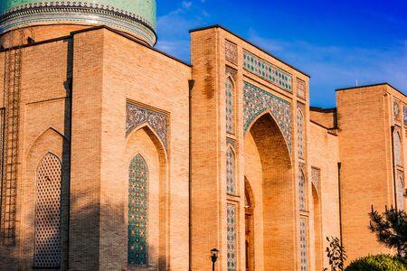 Khast Imam Square, major tourist destination in Tashkent, Uzbekistan