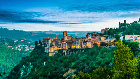 View of Narni, an ancient hilltown and comune of Umbria, in central Italy