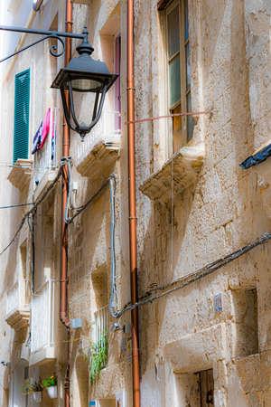 Historic architecture of Monopoli, Apulia, Italy