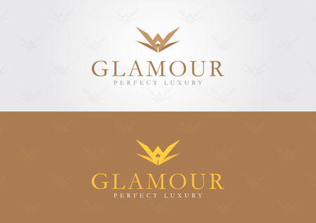 Glamour style  For a luxury brand be elegant