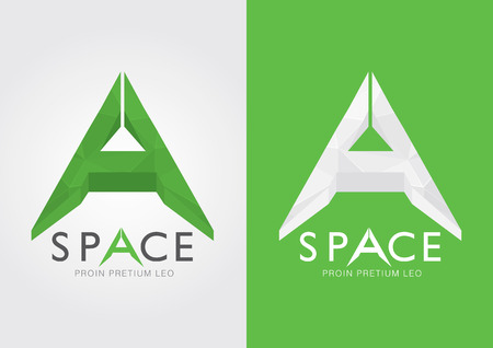describe: A Space An alphabet that describe many thing  For your business success in a modern style
