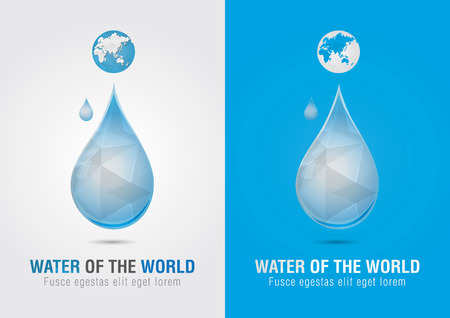 ci: Water of the world icon sign symbol  Creative marketing  Social and Environmental Enterprise
