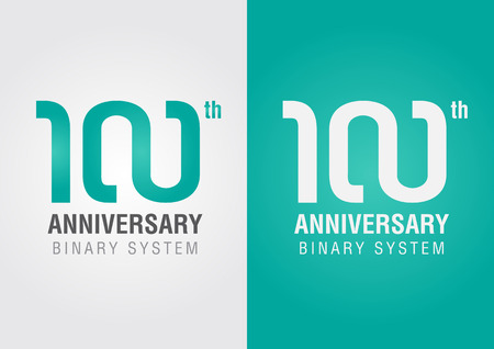 ci: 100th anniversary with an infinity symbol  Creative design  Business success