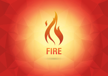 ci: Abstract Wallpaper with the fire  Element of the world  Creative marketing