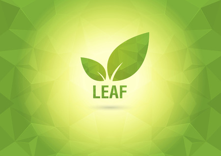 ci: Abstract Wallpaper with the leaf  Element of the world  Creative marketing