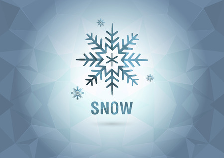 ci: Abstract Wallpaper with the snow  Element of the world  Creative marketing  Illustration