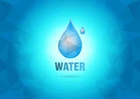 ci: Abstract Wallpaper with the water drop  Element of the world  Creative marketing