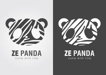 ze: Ze Panda a perfect combination of Zebra and Panda. Cute animal.