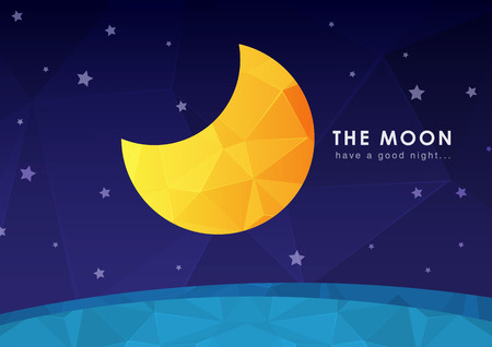 ci: The moon wallpaper with a pixel diamond texture. Background design.