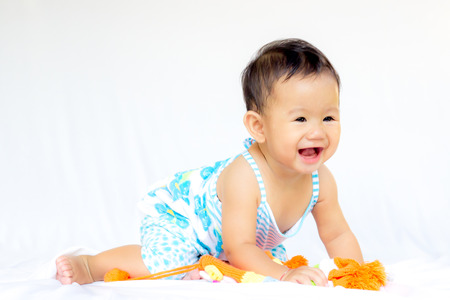 fema: Baby Cute Baby Girl Portrait