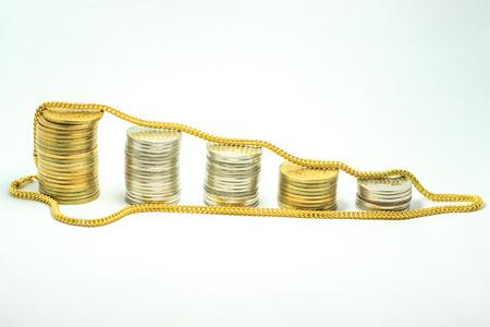 money gold Stock Photo - 24254480