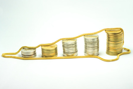 money and gold Stock Photo - 24265412