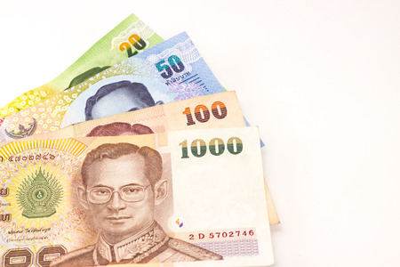 tight filled: Thai money
