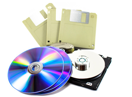 dvd and memory photo