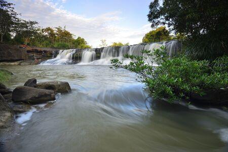 Huai Luang Waterfall at Ubon Ratchathani in Thailand