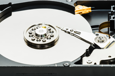 disk drive: real open hard disk drive