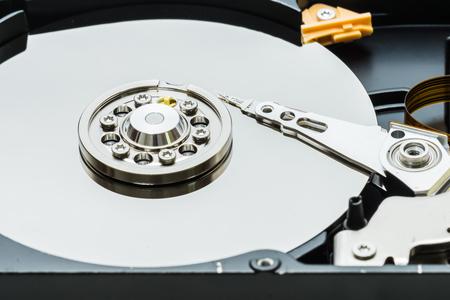 hard disk drive: real open hard disk drive