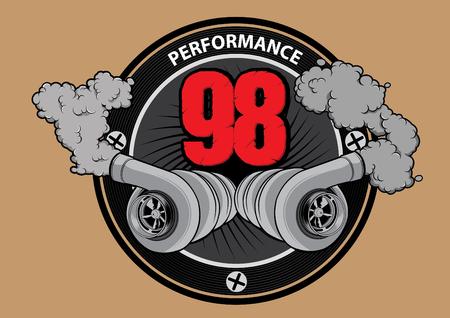 turbo: Turbo Performance Illustration