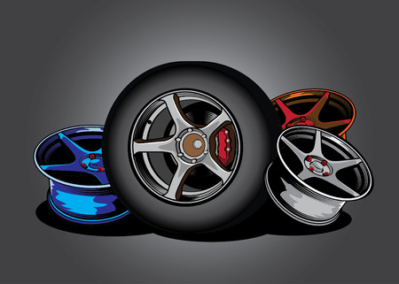 alloy wheel: wheel Alloy graphic