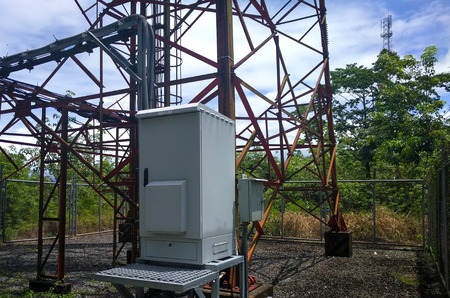 telephone pole Imagens