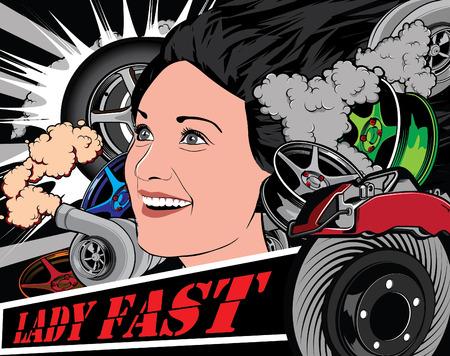 lady fast