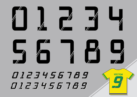 shirt number