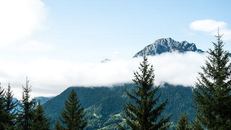 Cloud in the Alps