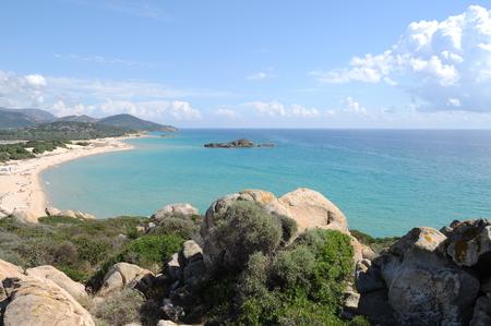 Beach in Sardinia Фото со стока