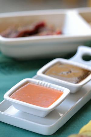 sauces: Sauces Stock Photo