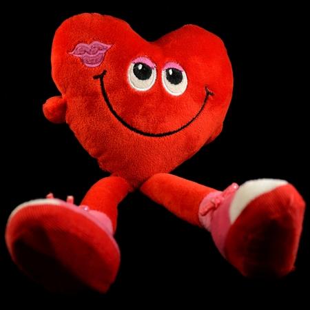 plushie: Heart shaped toy