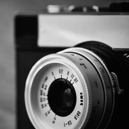 analog: Russian old analog camera Stock Photo